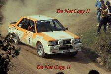 Anders Kullang Mitsubishi Lancer 2000 Turbo San Remo Rally 1982 Photograph 1