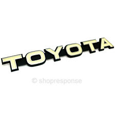 OEM Toyota 79-84 Land Cruiser BJ40 FJ40 Front Grill TOYOTA Emblem 7532190301
