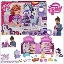 My Little Pony Cutie Mark Magic Rarity Booktique Playset Carry Case House NEW