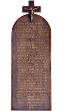 Ukrainian Apostle Creed Wood Carving - Вірую
