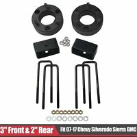 "3"" Front & 2"" Rear Leveling lift kit For 07-17 Chevy Silverado Sierra 1500 GMC"