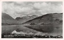 LOCH LEVEN SCOTLAND UK~BIDEAN NAM BIAN & GLEN COVE VILLAGE~PHOTO POSTCARD