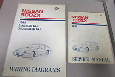 1989 Nissan 300ZX Service Repair Manual Set Model Z31 Series
