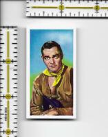John Russell - Western Stars C.W.S. Jaycee Tipped cigarette tobacco card #6
