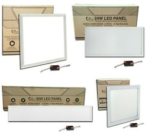LED Recessed Office Panel Light 600x600 1200x300 1200x600 300x300 600x300 White