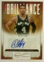 2012-13 Panini Brilliance Marks Of Brilliance DANNY GREEN Autograph /199
