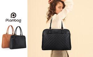 15.6 Inch Laptop Tote Bag Women Briefcase Business Handbag Work Computer Bag US