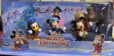 Disney  MICKEY'S CHRISTMAS CAROL  Figurine Playset  6 pc  NEW IN BOX