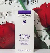 aroma calm entspannende körperöl nachricht & bath 3.3 fl. oz.
