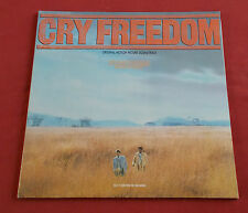 CRY FREEDOM LP BOF GEORGE FENTON  FILM DE ATTENBOROUGH