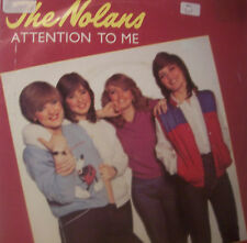 """THE NOLANS ~ Attention To Me ~ 7"""" Single PS"""