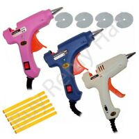 Mini Hair Extension Glue Gun With Keratin 6 Sticks And FREE Scalp Protectors