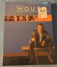 HOUSE DVD ~ COMPLETE FIRST SEASON ~ THREE DVD SET ~ NEW IN BOX ~ SEASON 1