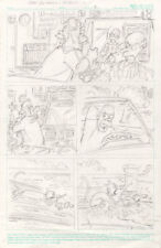12 Pages, Dan DeCarlo prelims for a Bart Simpson comic, Simpsons, Archie artist Comic Art