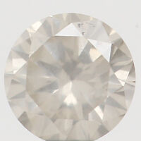 Natural Loose Diamond Round White Milky Color I1 Clarity 3.60 MM 0.17 Ct N7968