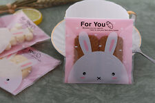 20 x Gift Bags Cute rabbit Easte Treat Lollies Bag Macaron Cookie  DIY FOR YOU