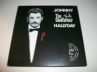 NOUVEAU DOUBLE CD JOHNNY HALLYDAY THE GODFATHER EXCELLENT ETAT