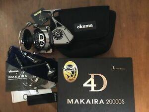 Okuma Makaira 5.8:1 High Speed Saltwater Spinning Reel, Left Hand - MK-20000LS