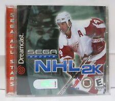 SEGA Sports NHL 2K SEGA Dreamcast Video Game 2000 NIB new in Original Packaging