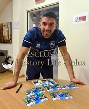 Massimiliano Busellato Sport Foto Autografo Pescara Calcio Soccer Photo