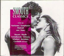 SMOOTH CLASSICS NOCTURNES SYMPHONIES MUSICALS 3 CD Boxed set 1995 Excellent