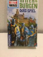 Was ist was? Ritter & Burgen Quizspiel von Kosmos Lernspiel Rätsel Kinder