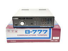 Tono Theta 777 Advanced Communications Terminal Morse code, Baudot RTTY, AMTOR