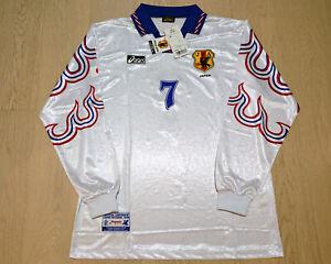 Retro Japan 96 Atlanta Olympics Away Football Shirt  #7 MAEZONO 前園真聖 マエゾノマサキヨ