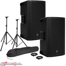 "Pair of Mackie Thump12A 1300W 12"" Class-D Powered PA Loudspeakers - Live Bundle"