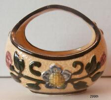 "1- MARUHON WARE  ""Small Floral Basket""  as shown Circle K"
