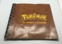 Pokemon Trainer's Guide - Original Instruction Manual for Red & Blue - Game Boy