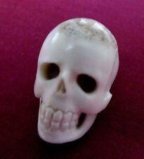 Hand Carved Deer Antler Skull ~ New ~ 1 x 5/8 x 7/8