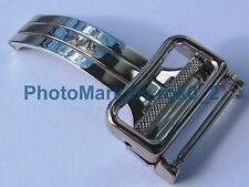 EBEL 18k 18ct WHITE GOLD 18mm deployment deployant buckle clasp Nice Condition!