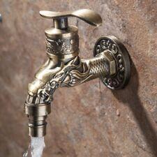 """Retro Zinc Alloy Kitchen Bathroom Basin Sink Faucet Single 1/2""""  Handle Tap Part"""