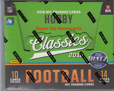 2018 Panini Classics Football Factory Sealed Hobby Box