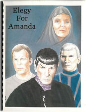 "Star Trek ""Elegy for Amanda"" GEN Sarek/Amanda novel by Gamin Davis"