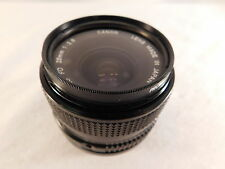 CANON CAMERA LENS JAPAN FD 28MM 1: 2.8 WIDE ANGLE
