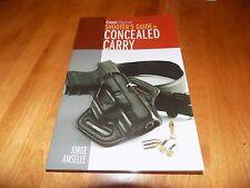 GUN DIGEST'S SHOOTER'S GUIDE TO CONCEALED CARRY Pistol Gun Guns Firearm Book NEW