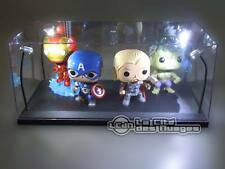 1/18 Boite vitrine LED Lighted Display case Showcase FUNKO POP