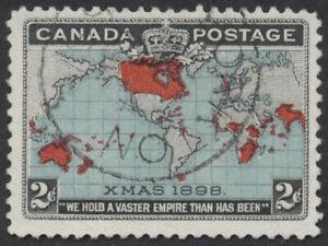 Canada #86 Map Stamp, Yorkton ASSA CDS, F-VF Used