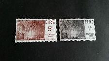 Irlanda 1966 SG 225-226 750 TH Anniv dell'Abbazia di bullintubber Gomma integra, non linguellato