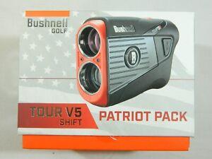 New Bushnell Tour V5 Shift + Jolt Technology Laser Golf Rangefinder V 5 Slope