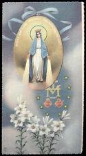 "santino-holy card""""ediz. NB serie E n.6092 MADONNA DELLA MEDAGLIA"