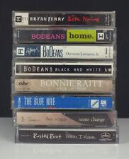 Lot 8 Rock Cassette Tapes-BoDeans/Bryan Ferry/Blue Nile/Boz Scaggs/Riatt/Rusted