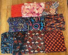 Lot Of 10 LuLaRoe TC Leggings | Tall & Curvy Leggings Colorful Fun Prints