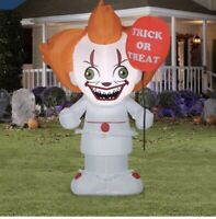 Gemmy Airblown Inflatable IT Clown 3.5 Ft. Halloween Yard Decoration
