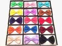 NEW Tuxedo BowTie Wedding Formal Homecoming  Neckwear Adjustable Men's Bow Tie