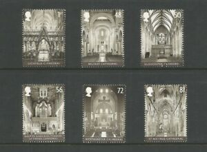 GB 2008 Cathedrals Fine Used Set SG 2841/6