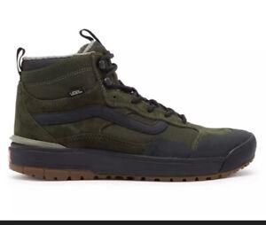 Vans UltraRange EXO Hi 66 Supply Green Black Size 8.5M/10W Sneaker