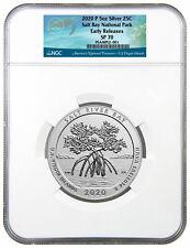 New Listing2020 P Salt River Bay Np Ecological Preserve 5 oz Silver Atb Ngc Sp70 Er Presale